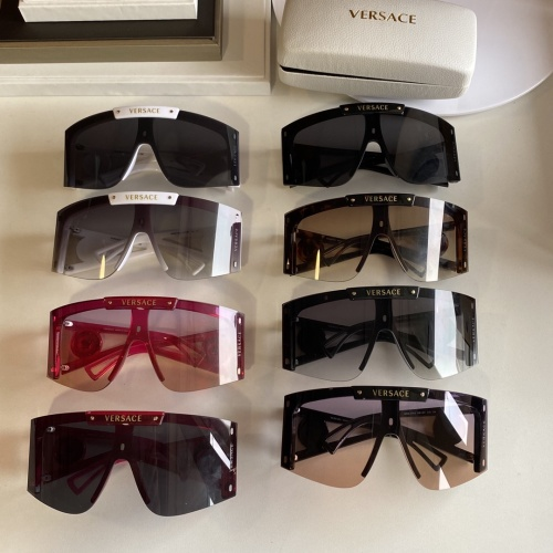 Replica Versace AAA Quality Sunglasses #854358 $60.00 USD for Wholesale