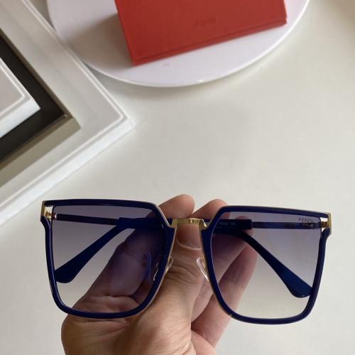 Fendi AAA Quality Sunglasses #854373