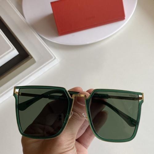 Fendi AAA Quality Sunglasses #854375