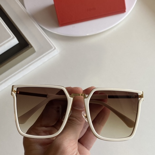 Fendi AAA Quality Sunglasses #854377
