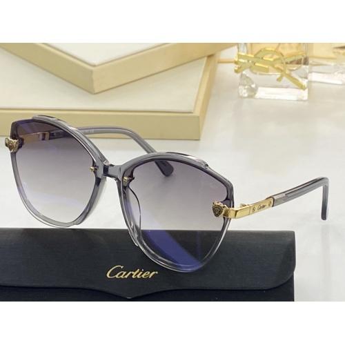 Cartier AAA Quality Sunglasses #854380
