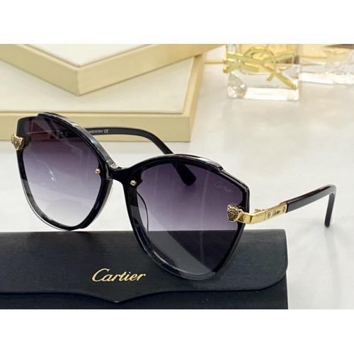 Cartier AAA Quality Sunglasses #854381