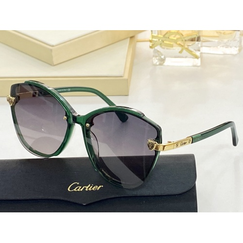 Cartier AAA Quality Sunglasses #854382