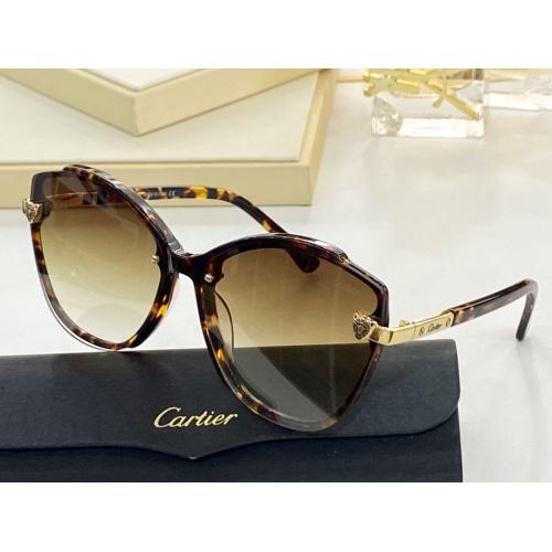 Cartier AAA Quality Sunglasses #854385