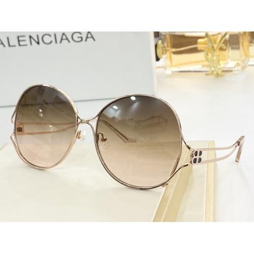 Balenciaga AAA Quality Sunglasses #854407