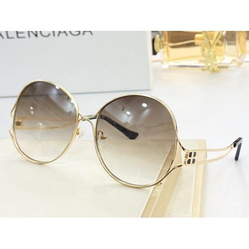 Balenciaga AAA Quality Sunglasses #854408