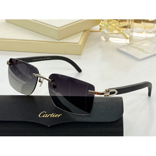 Cartier AAA Quality Sunglasses #854414