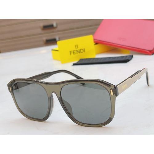 Fendi AAA Quality Sunglasses #854431