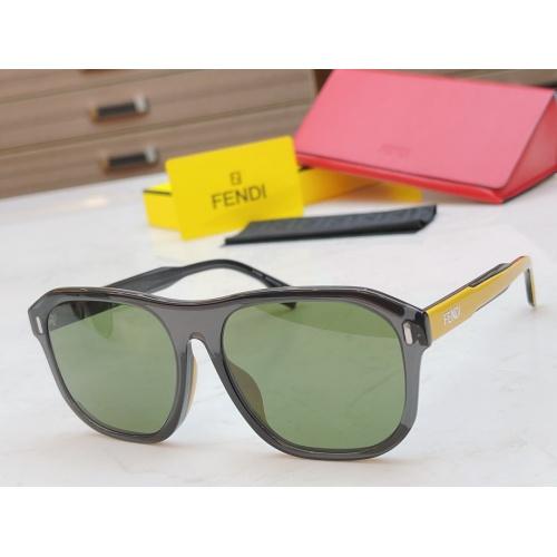 Fendi AAA Quality Sunglasses #854433