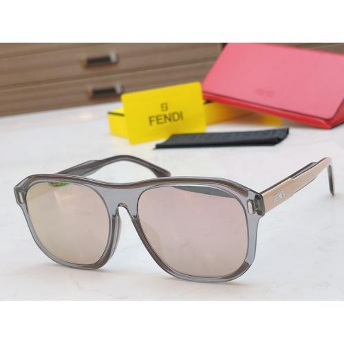 Fendi AAA Quality Sunglasses #854434