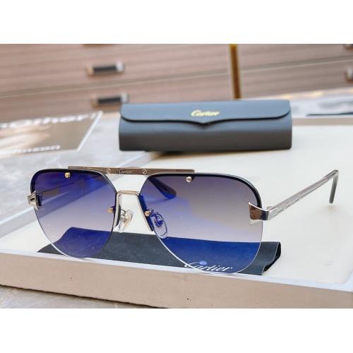 Cartier AAA Quality Sunglasses #854435