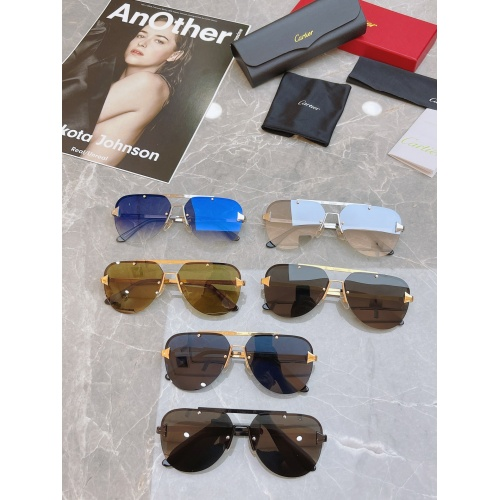 Replica Cartier AAA Quality Sunglasses #854436 $58.00 USD for Wholesale