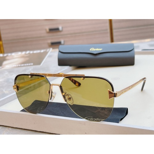 Cartier AAA Quality Sunglasses #854439