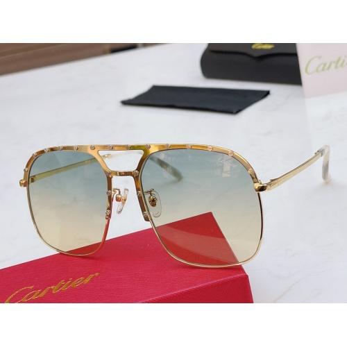 Cartier AAA Quality Sunglasses #854452