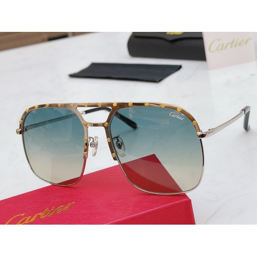 Cartier AAA Quality Sunglasses #854453