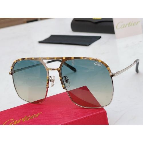 Cartier AAA Quality Sunglasses #854453