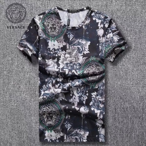 Versace T-Shirts Short Sleeved For Men #854774 $25.00 USD, Wholesale Replica Versace T-Shirts