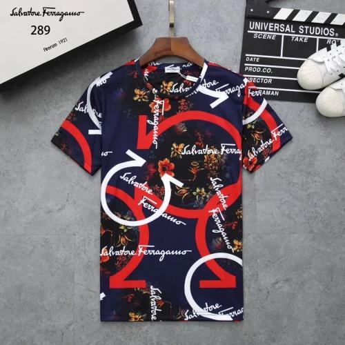 Ferragamo Salvatore FS T-Shirts Short Sleeved For Men #854775
