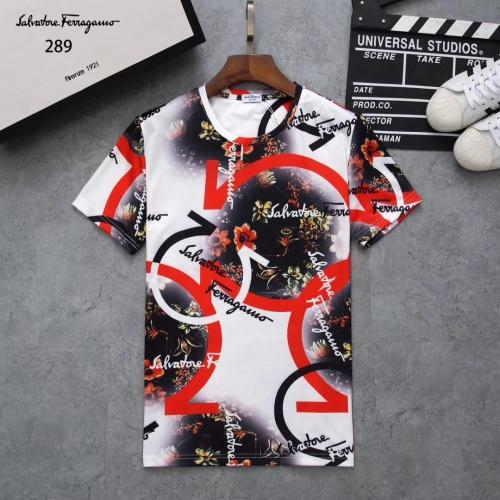 Ferragamo Salvatore FS T-Shirts Short Sleeved For Men #854776