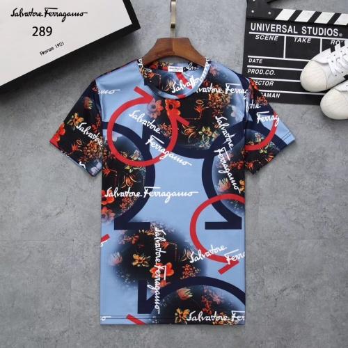 Ferragamo Salvatore FS T-Shirts Short Sleeved For Men #854777