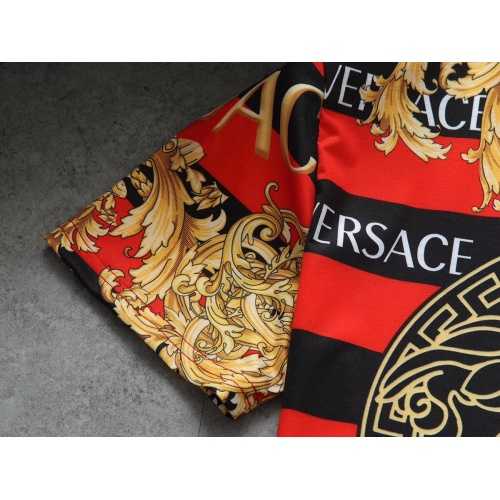 Replica Versace T-Shirts Short Sleeved For Men #854799 $25.00 USD for Wholesale
