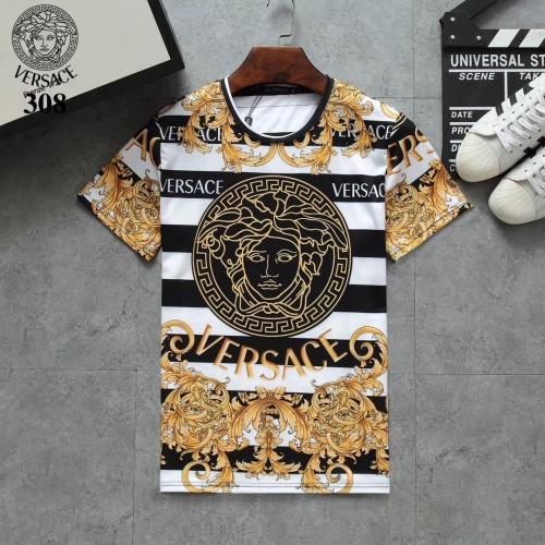 Versace T-Shirts Short Sleeved For Men #854801