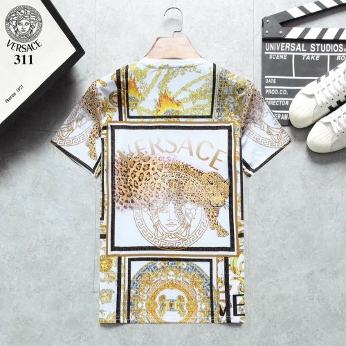 Replica Versace T-Shirts Short Sleeved For Men #854805 $25.00 USD for Wholesale