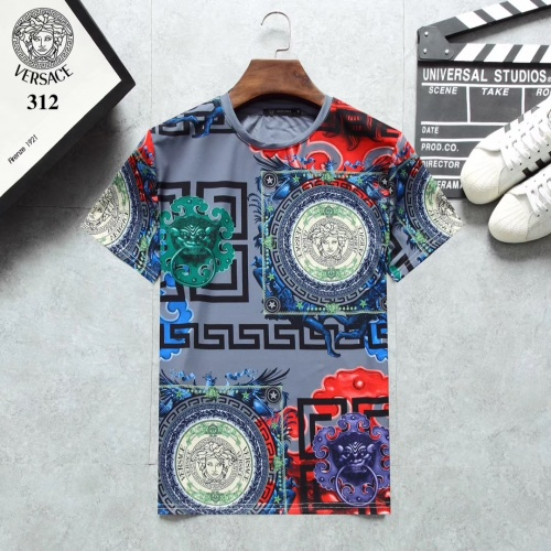 Versace T-Shirts Short Sleeved For Men #854808