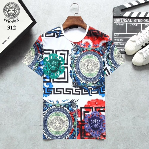 Versace T-Shirts Short Sleeved For Men #854809 $25.00 USD, Wholesale Replica Versace T-Shirts