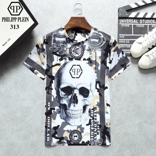 Philipp Plein PP T-Shirts Short Sleeved For Men #854815