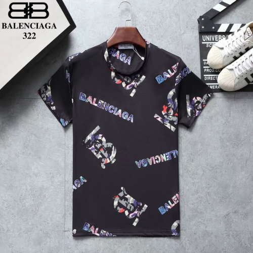 Balenciaga T-Shirts Short Sleeved For Men #854831