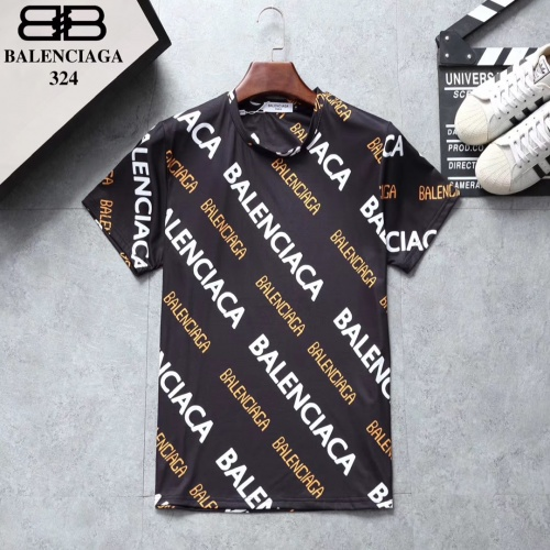 Balenciaga T-Shirts Short Sleeved For Men #854832 $25.00, Wholesale Replica Balenciaga T-Shirts