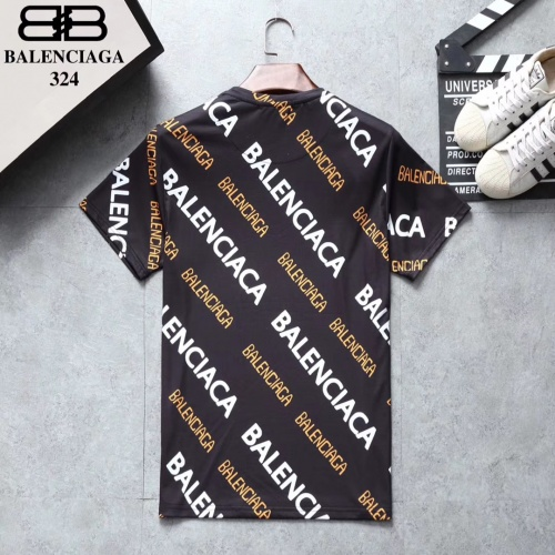 Replica Balenciaga T-Shirts Short Sleeved For Men #854832 $25.00 USD for Wholesale