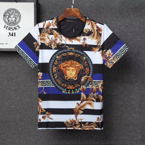 Versace T-Shirts Short Sleeved For Men #854847 $25.00 USD, Wholesale Replica Versace T-Shirts