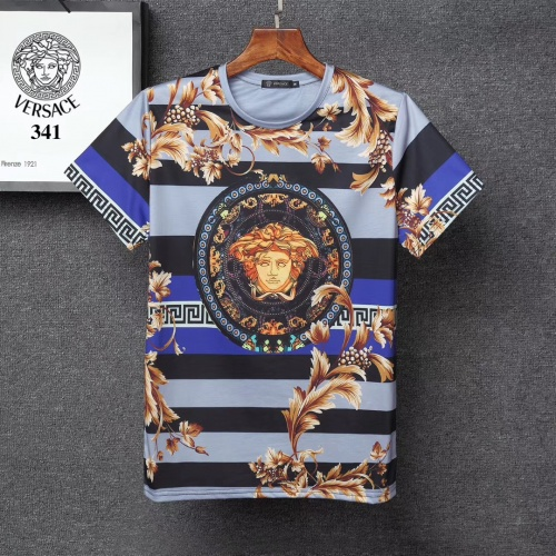 Versace T-Shirts Short Sleeved For Men #854848 $25.00 USD, Wholesale Replica Versace T-Shirts