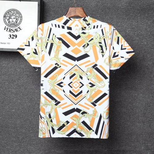 Replica Versace T-Shirts Short Sleeved For Men #854856 $25.00 USD for Wholesale