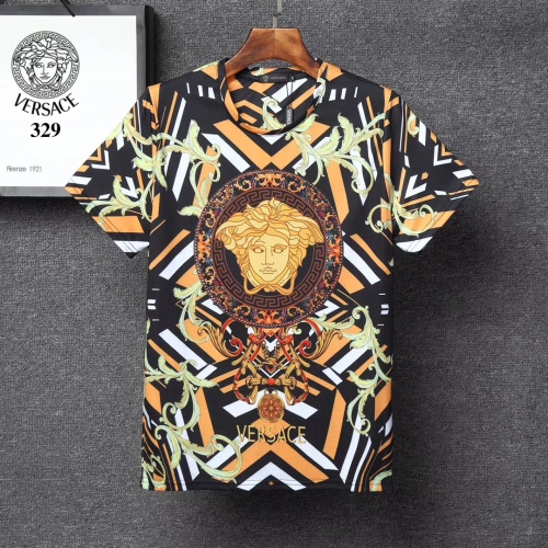Versace T-Shirts Short Sleeved For Men #854858 $25.00 USD, Wholesale Replica Versace T-Shirts