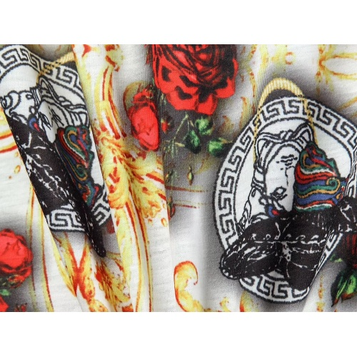 Replica Versace T-Shirts Short Sleeved For Men #854859 $25.00 USD for Wholesale