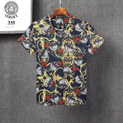 Versace T-Shirts Short Sleeved For Men #854861 $25.00 USD, Wholesale Replica Versace T-Shirts