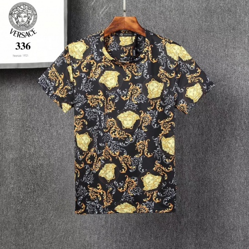 Versace T-Shirts Short Sleeved For Men #854864 $25.00 USD, Wholesale Replica Versace T-Shirts
