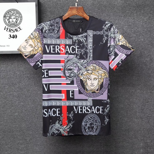 Versace T-Shirts Short Sleeved For Men #854865 $25.00 USD, Wholesale Replica Versace T-Shirts
