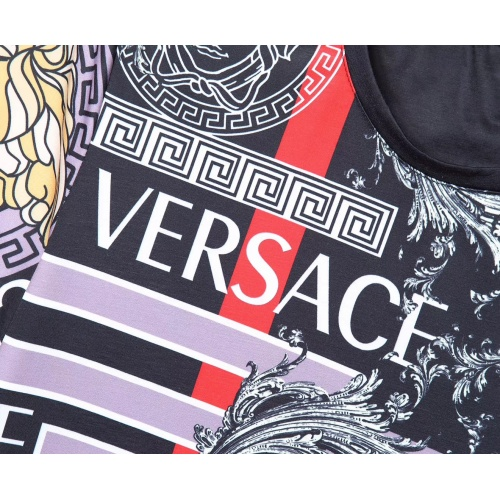 Replica Versace T-Shirts Short Sleeved For Men #854865 $25.00 USD for Wholesale