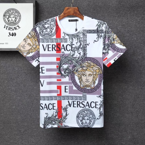 Versace T-Shirts Short Sleeved For Men #854867