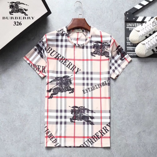 Burberry T-Shirts Short Sleeved For Men #854873