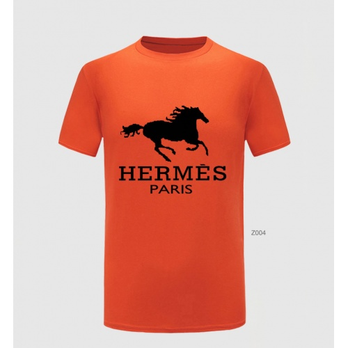 Hermes T-Shirts Short Sleeved For Men #855130