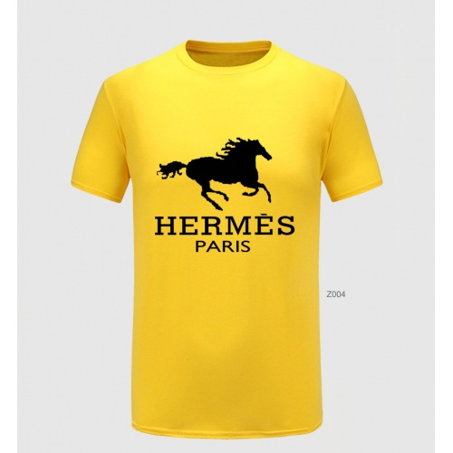 Hermes T-Shirts Short Sleeved For Men #855133