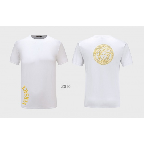 Versace T-Shirts Short Sleeved For Men #855169 $27.00 USD, Wholesale Replica Versace T-Shirts