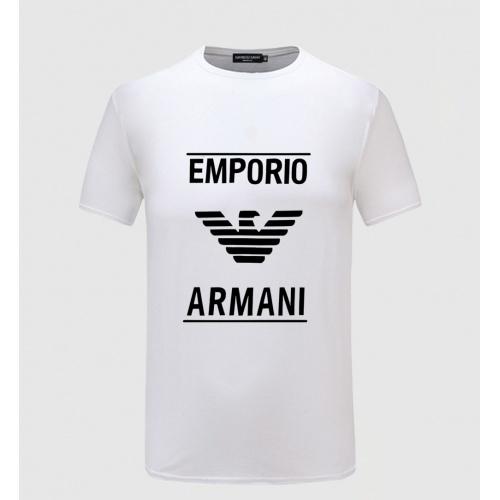 Armani T-Shirts Short Sleeved For Men #855176