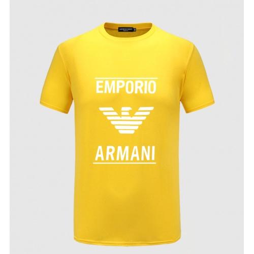 Armani T-Shirts Short Sleeved For Men #855182