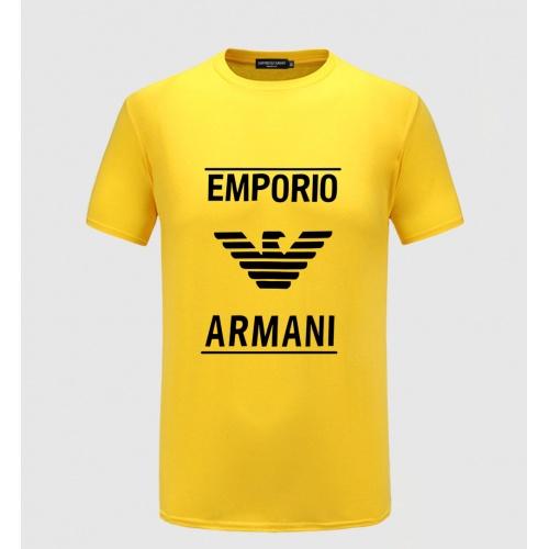 Armani T-Shirts Short Sleeved For Men #855183